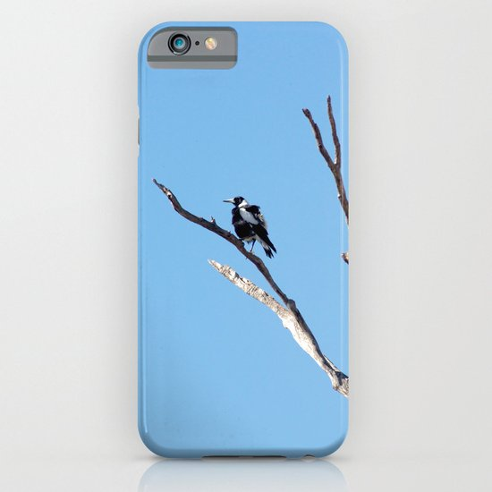 The Magpie that Comes and Goes iPhone & iPod Case