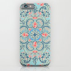 Gypsy Floral in Red & Blue Slim Case iPhone 6s