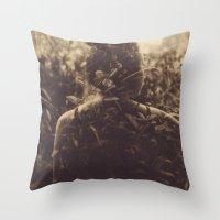 Untitled, Polaroid Throw Pillow