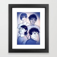 Bloc Party Framed Art Print