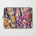 Abstract Pussy Willows Laptop Sleeve