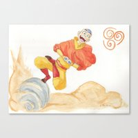 Avatar - Air Bending  Canvas Print