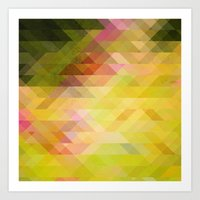 Graphic art Art Print