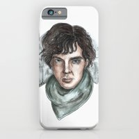 iPhone & iPod Case featuring Sherlock Holmes by ArtEleanor
