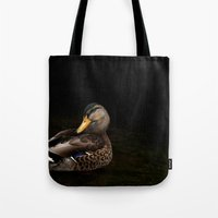 Summers Mallard Tote Bag