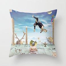 Gunas Throw Pillow