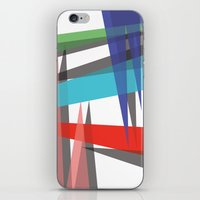 Ambient 19 white iPhone & iPod Skin