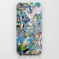Venice Beach Bathroom Art iPhone 6 Slim Case