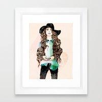 Boho Chic  Framed Art Print
