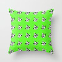 Leaves Of Three Throw Pillow