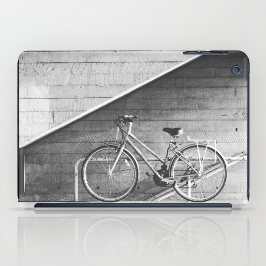Bike and lines iPad Case