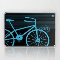Blue Bike By Friztin Laptop & iPad Skin