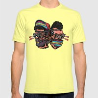 Bass Brothers Album Cove… Mens Fitted Tee Lemon SMALL