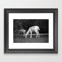 Hmmm... (2) Framed Art Print