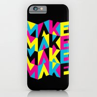 iPhone & iPod Case featuring MYCK by Marco Angeles