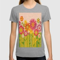 Spring Fun Womens Fitted Tee Tri-Grey SMALL