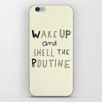 WAKE UP iPhone & iPod Skin