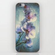 iPhone & iPod Skin featuring Vintage Orchids by Joke Vermeer