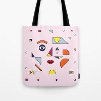 Face Modern (no.2) Tote Bag