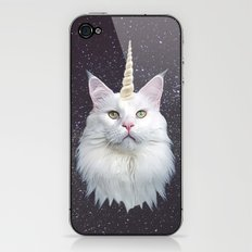 Unicorn Cat iPhone & iPod Skin