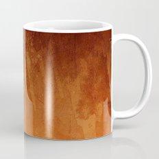 Orange Fire Watercolor Abstract Mug