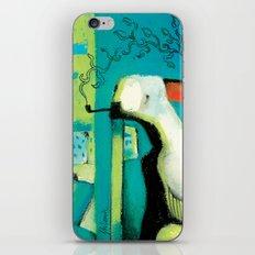 ORANGE ROOM iPhone & iPod Skin