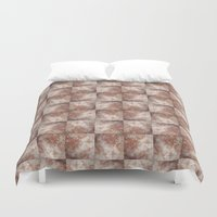 Wall Pattern Duvet Cover