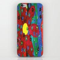Mosaic flower iPhone & iPod Skin