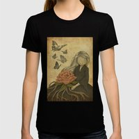 Fragranced Womens Fitted Tee Black SMALL