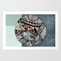 Mending World Art Print
