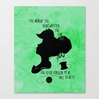 The Moment You Doubt You Can Fly Canvas Print