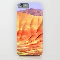 iPhone Cases featuring PAINTED HILLS by Teresa Chipperfield Studios