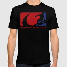 Hoverboard Racing League Black Mens Fitted Tee SMALL