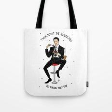 Special Agent Dale Cooper ~ RR Diner Tote Bag