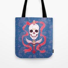 Moon Skull Tote Bag