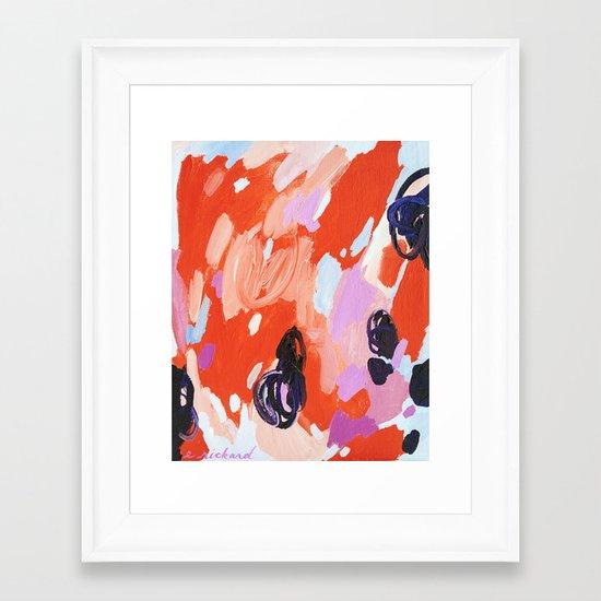 Pie For Breakfast Framed Art Print