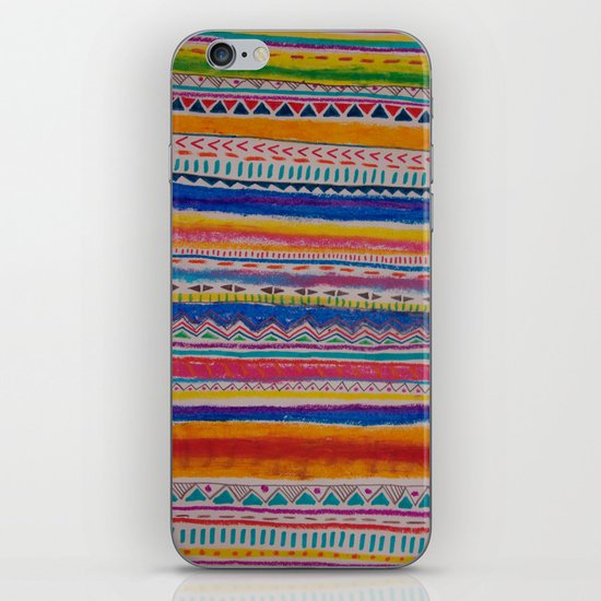 TRIBAL CRAYON / iPhone & iPod Skin