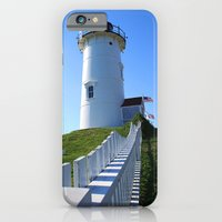 iPhone & iPod Case featuring Lighthouse by goguen