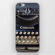 Corona Typewriter iPhone & iPod Skin