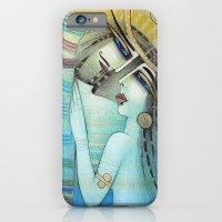 LES MOTS BLEUS iPhone 6 Slim Case