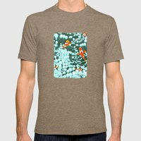 Nemo's Cousins Are Visit… Mens Fitted Tee Tri-Coffee SMALL