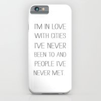 I'm in love with cities. iPhone 6 Slim Case