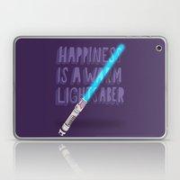 Happiness Is A Warm Ligh… Laptop & iPad Skin