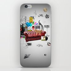Rock and Roll living iPhone & iPod Skin