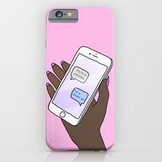 Black Queen Slim Case iPhone 6s