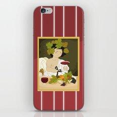 Bacco by Caravaggio iPhone & iPod Skin