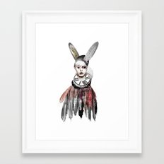 Bunny Boy Framed Art Print