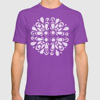 Blan Mens Fitted Tee Ultraviolet SMALL