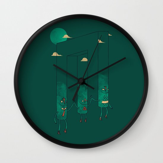 The Belvederes Wall Clock