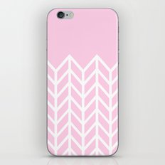 LACE CHEVRON (PINK) iPhone & iPod Skin